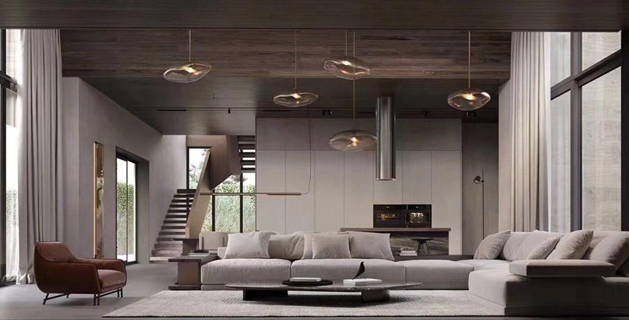 现代风格别墅装修实景案例
