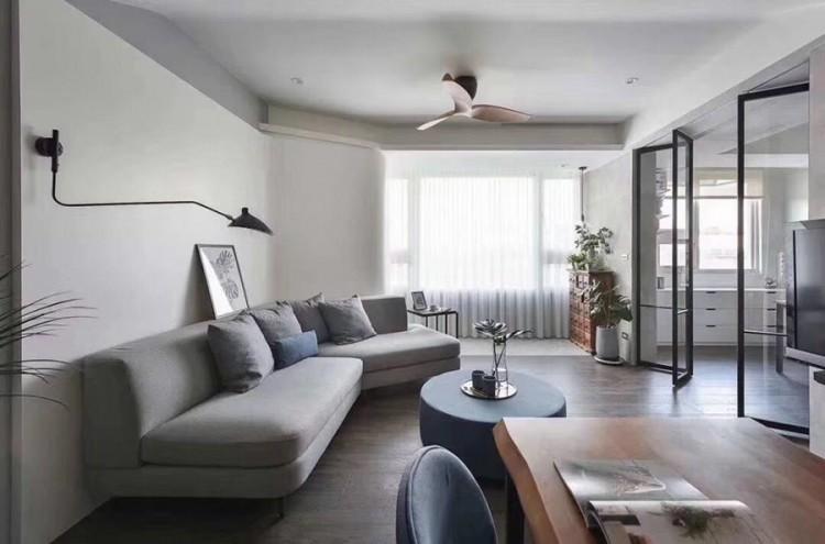 现代风格客厅装修实景案例
