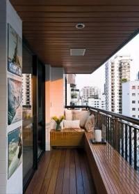 阳台隔断实用精美案例