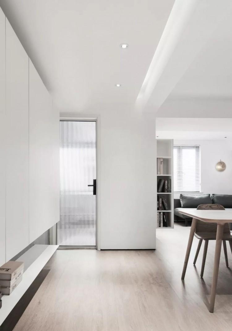 现代简约一居室效果图