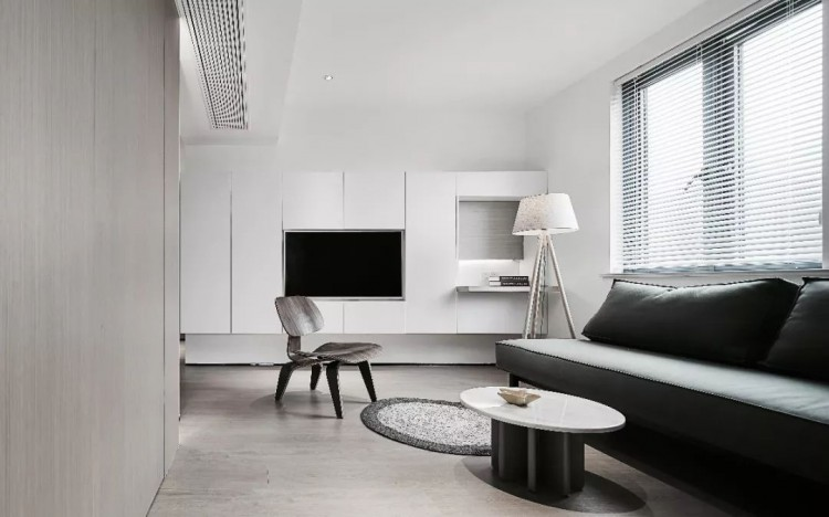 现代简约风格一居室效果图