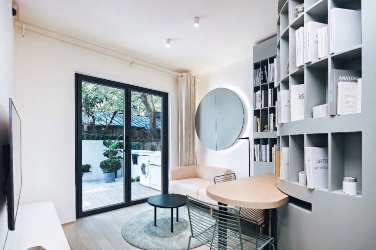 现代简约两居室效果图