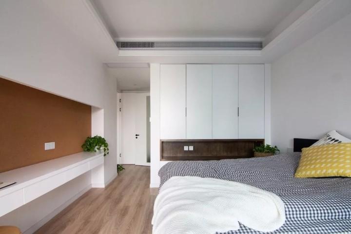 现代简约风格三居室卧室装修效果图