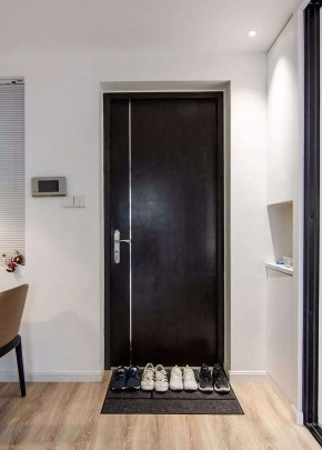 现代简约风格三居室玄关装修效果图