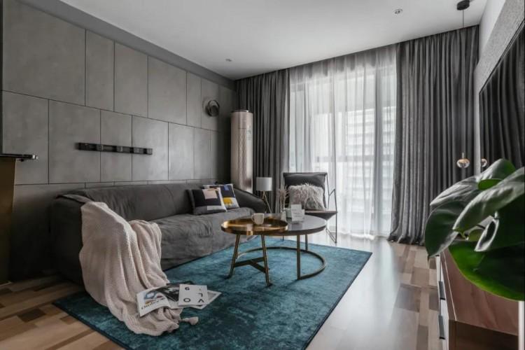 现代轻奢风格两居室装修效果图