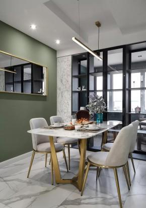 现代简约风格三居室餐厅装修效果图