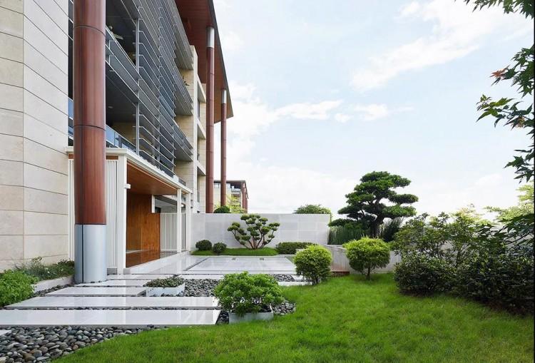 现代简约风格六居室别墅装修效果图