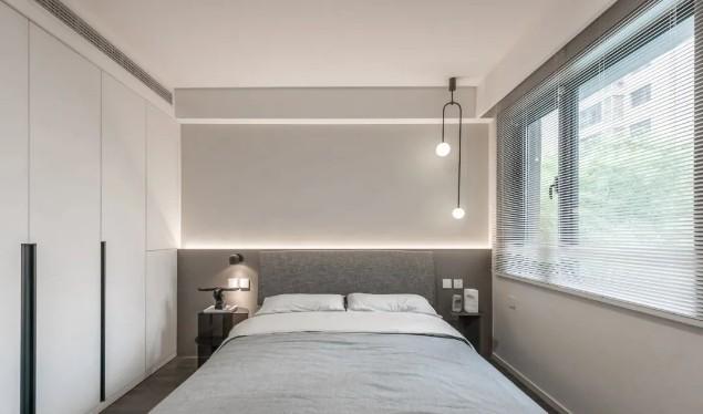 现代简约风格两居室装修效果图