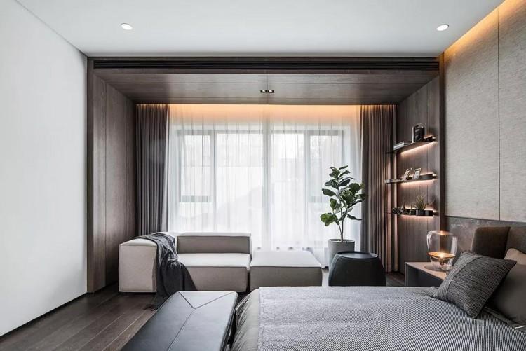 现代简约风格四居室装修效果图