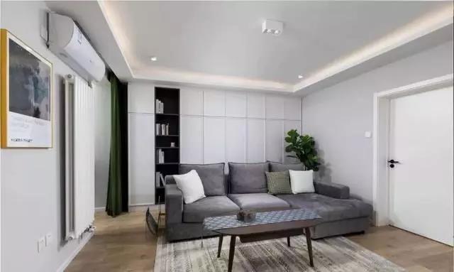 简约风格两居室客厅装修效果图