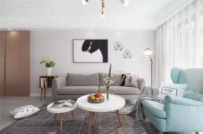 简约北欧风格四居室装修效果图