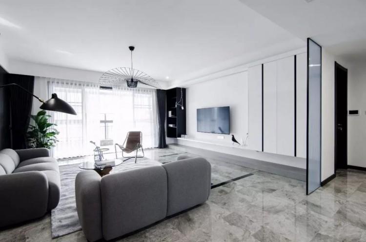 现代风格五居室装修效果图