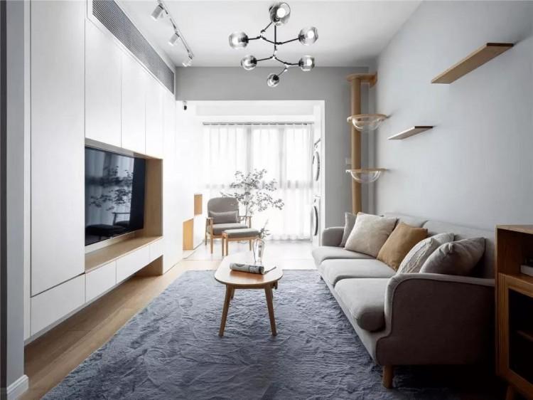 简约风格两居室装修效果图