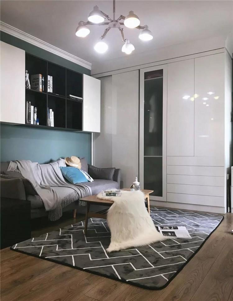 轻奢风格两居室装修效果图