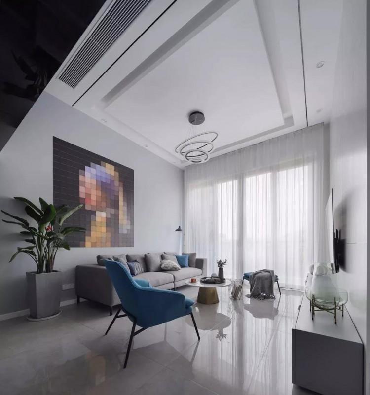 复式风格三居室装修效果图