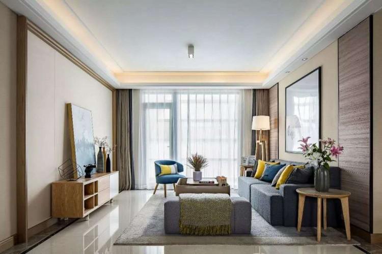 现代北欧风格三居室装修效果图